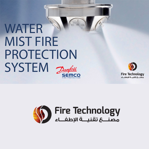 Mist System Product : Water mist system firetech